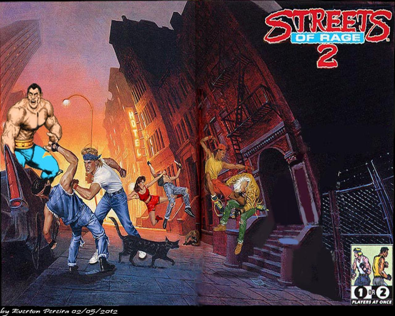 Streets Of Rage Wallpapers Wallpaper Cave