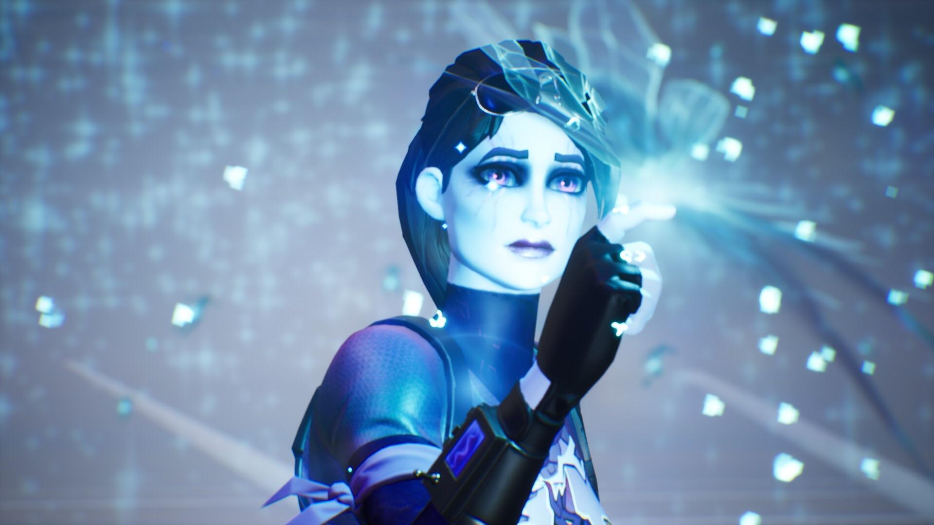 Dark bomber butterfly event wallpaper : FortNiteBR