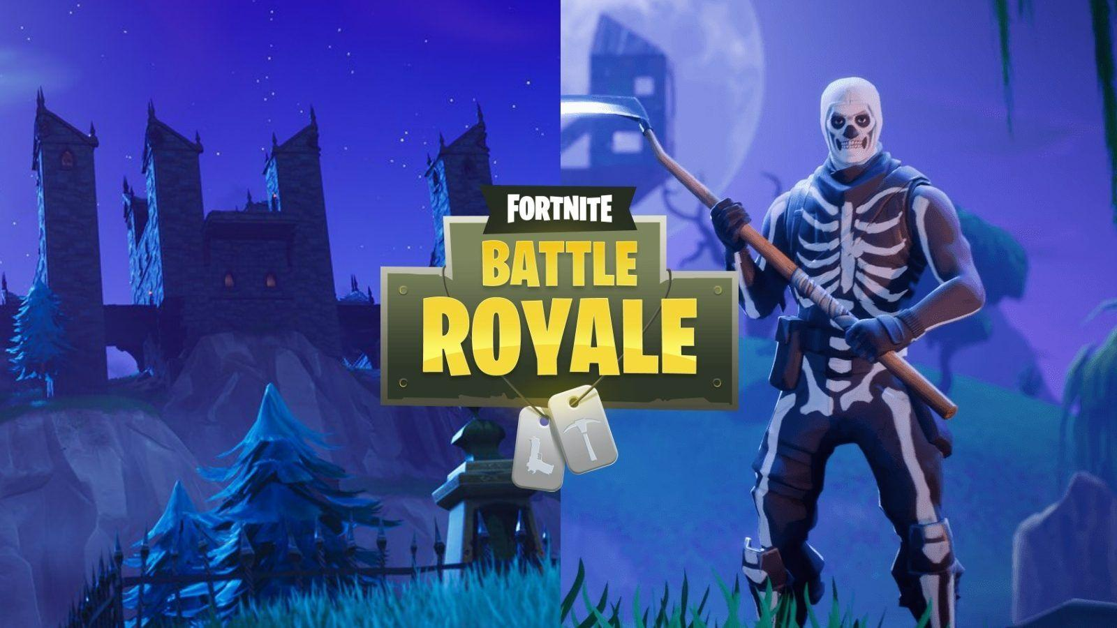 Skull Trooper Fortnite Wallpapers Wallpaper Cave