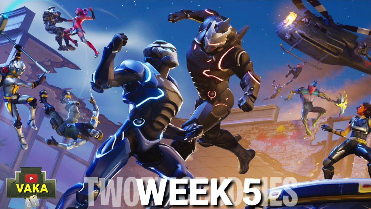 Fortnite battle royale WEEK 5 & 6 BACKGROUNDS LEAKED - YouTube