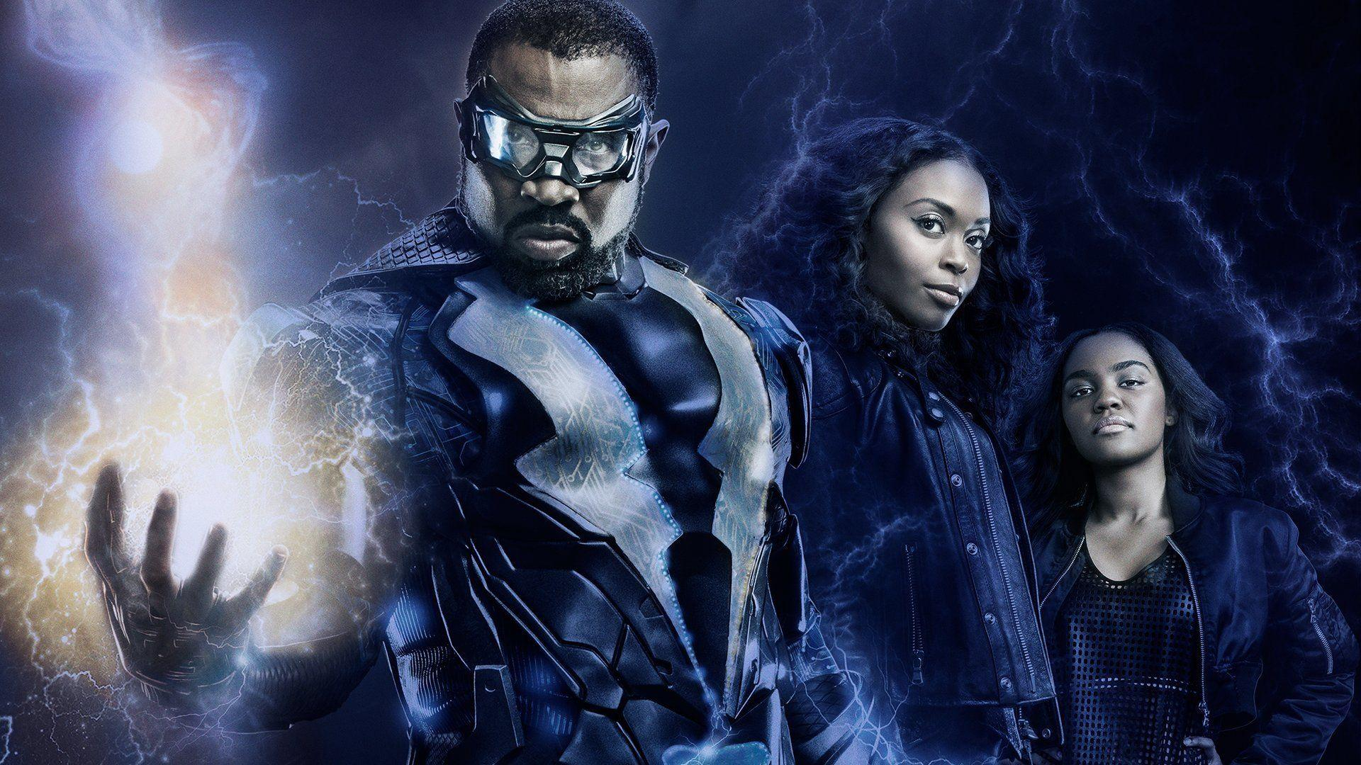Black Lightning HD Wallpaper | Background Image | 1920x1080 | ID ...