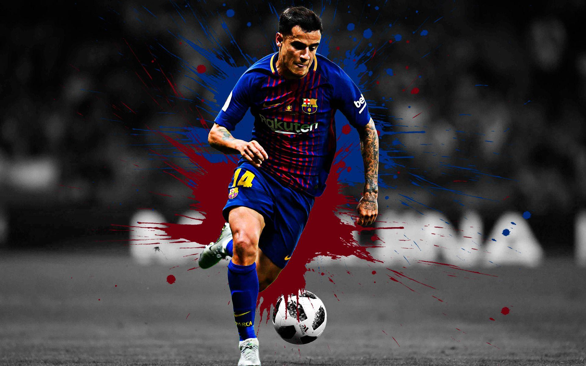 Philippe coutinho barcelona wallpapers wallpaper cave - Coutinho wallpaper hd ...