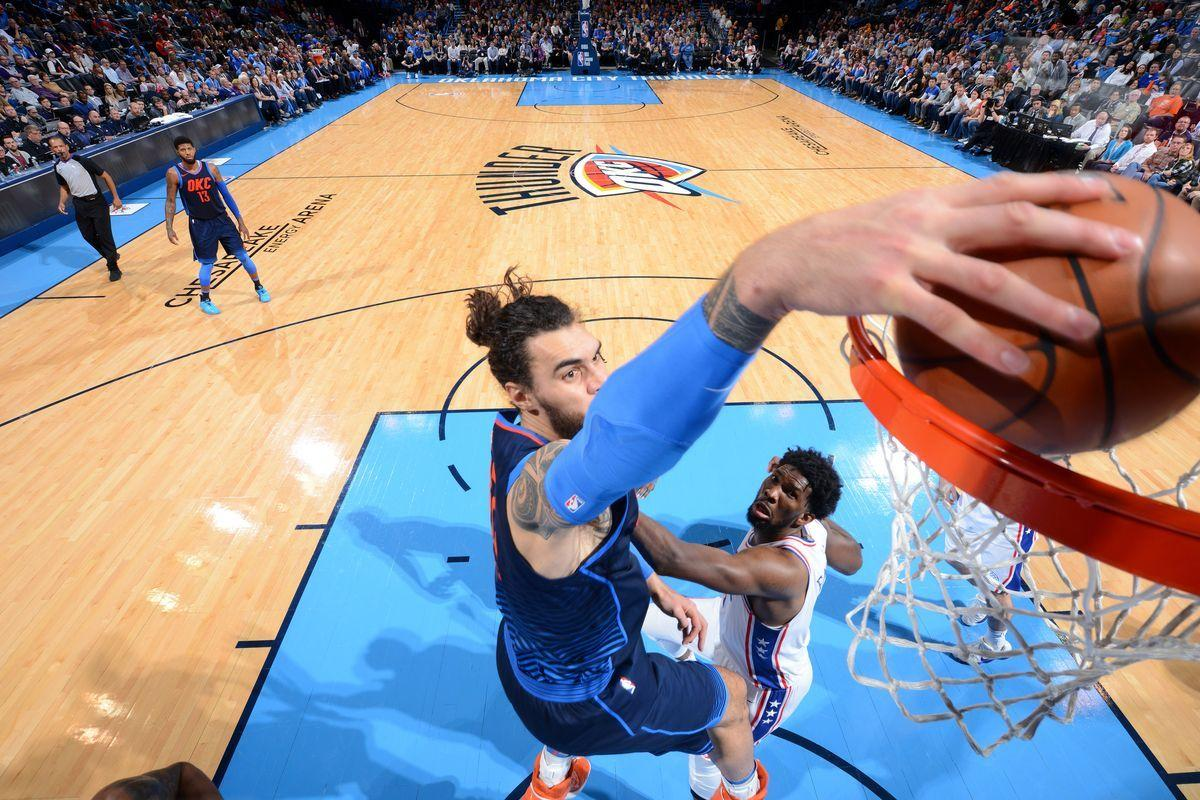 Steven Adams makes a Big 4 for the Thunder, and 8 other things from ...
