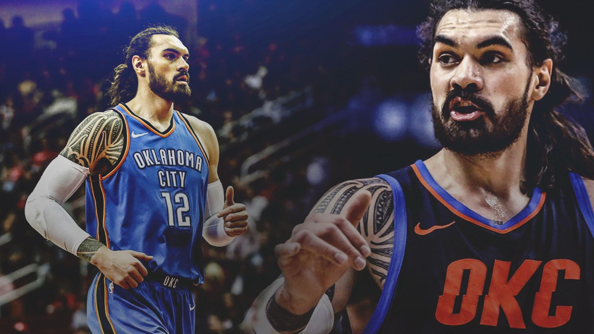 Thunder news: Steven Adams details his first time embracing Spurs ...