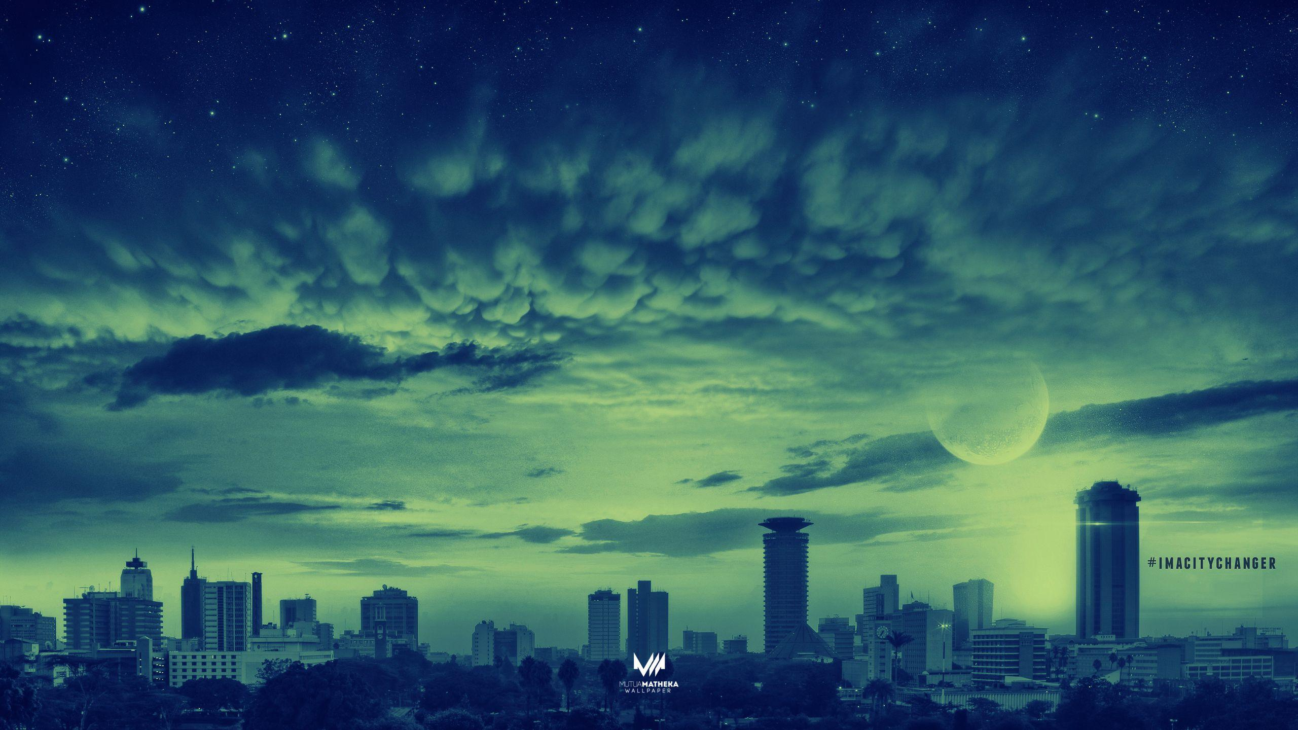 Wallpaper Monday [81] – Apocalyptic Nairobi | Mutua Matheka