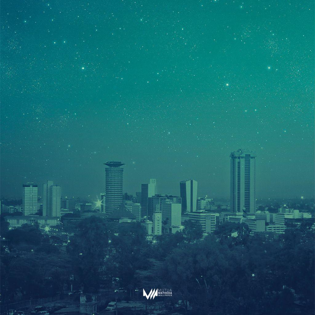 Wallpaper Monday [76] – A starry Nairobi | Mutua Matheka
