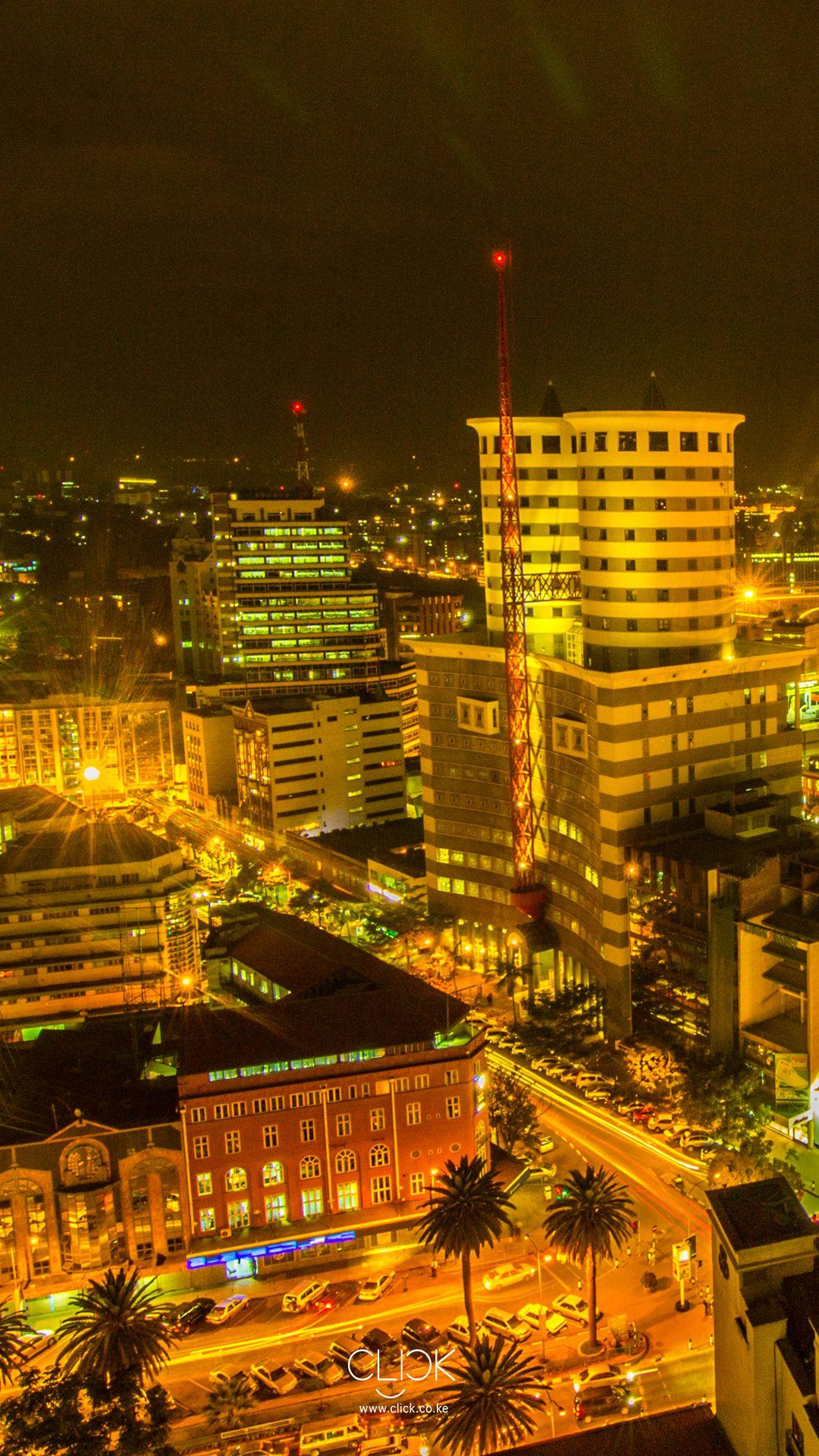 African Screens 48 – Nairobi Nightscape | Clicking with Purpose