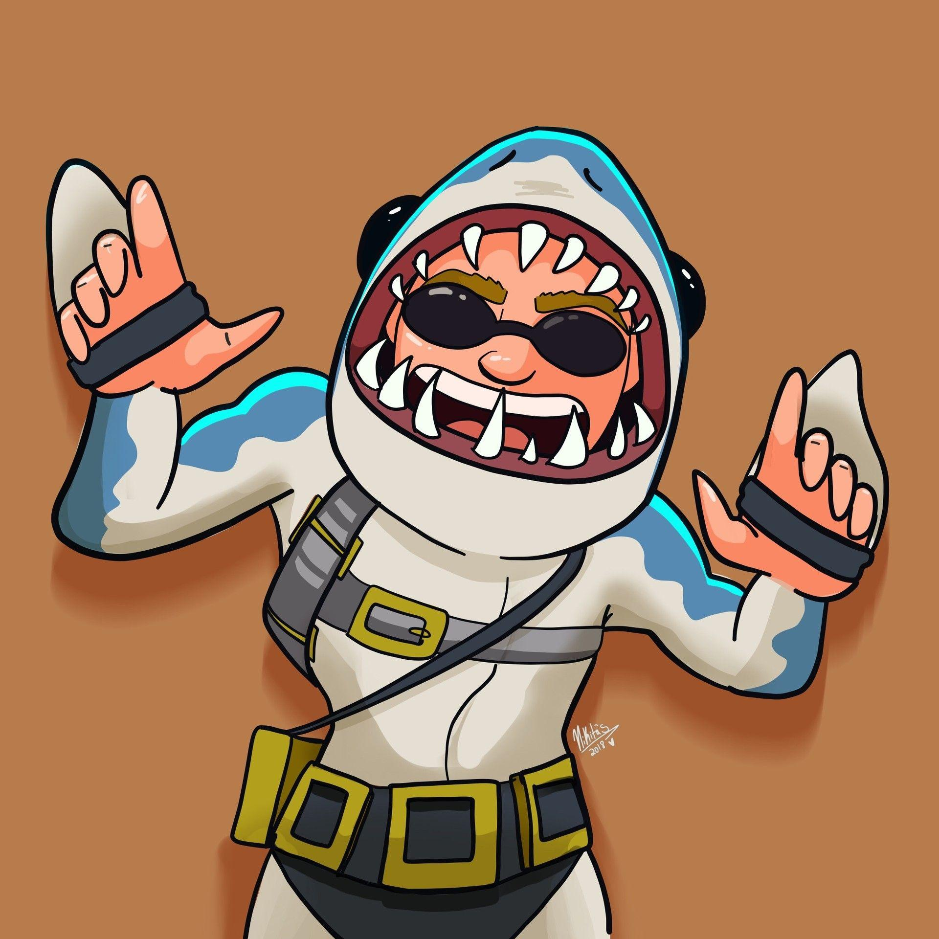 ArtStation - Fortnite chomp SR. Fanart, Nicole Davila
