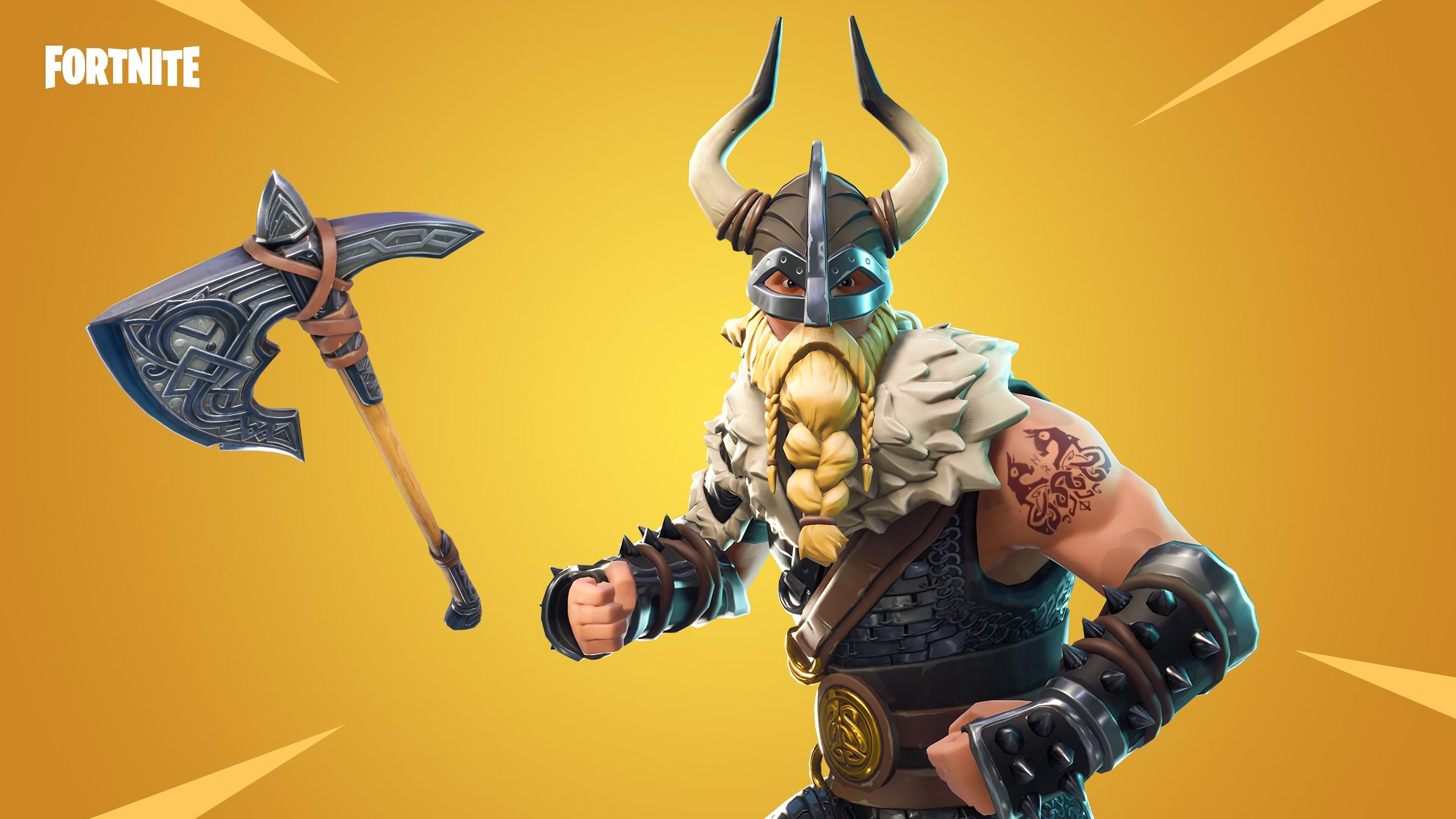 Magnus 4K 8K HD Fortnite Battle Royale Wallpaper