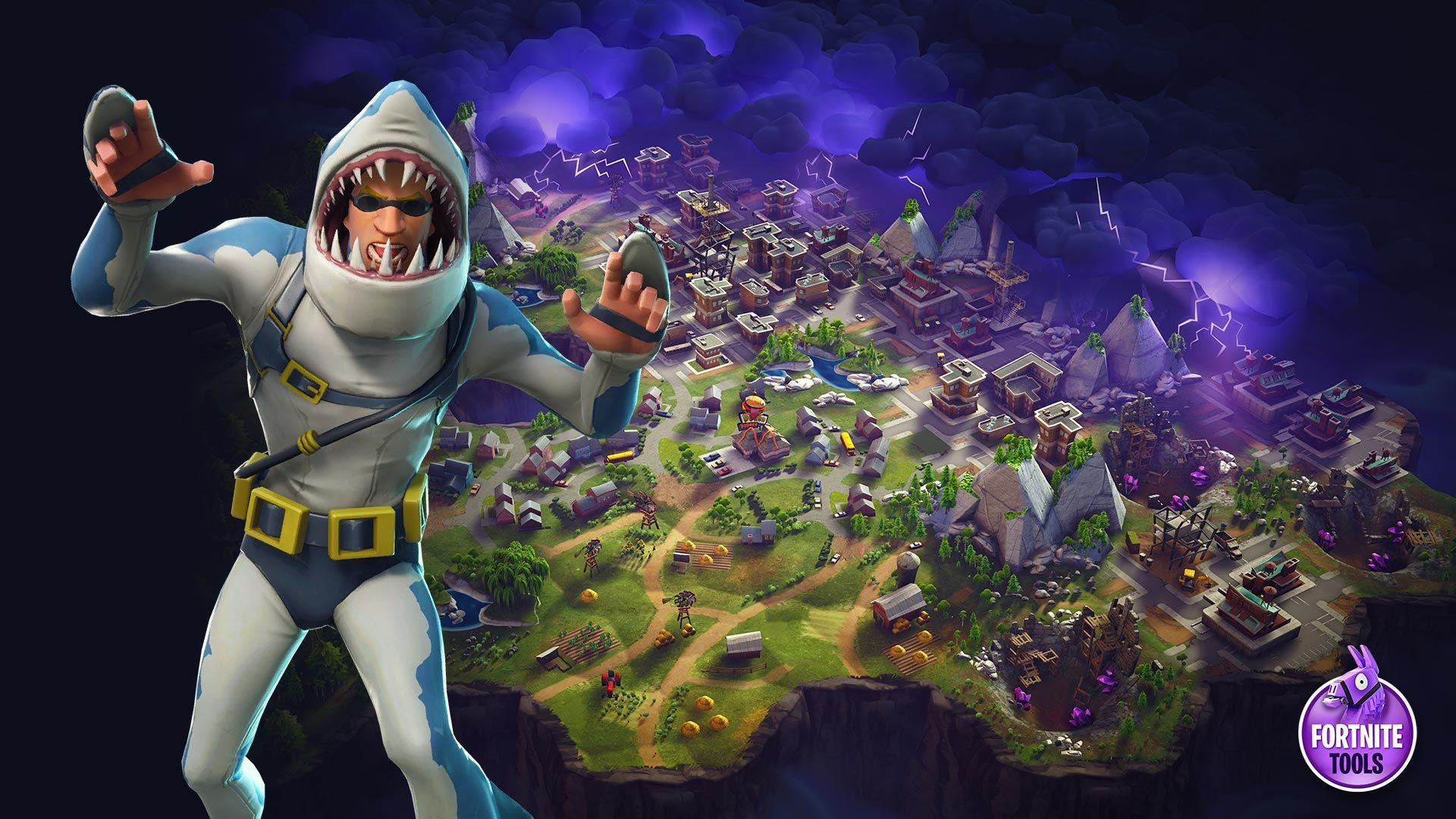 fortnite-battle-royale-wallpaper-skin-chomp-sr › Fortnite Tools