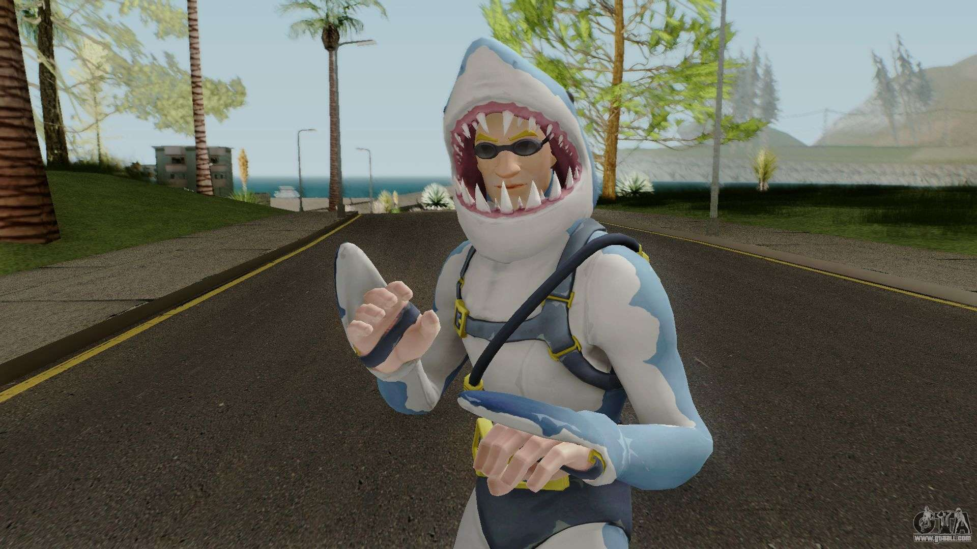 Fortnite Chomp Sr for GTA San Andreas