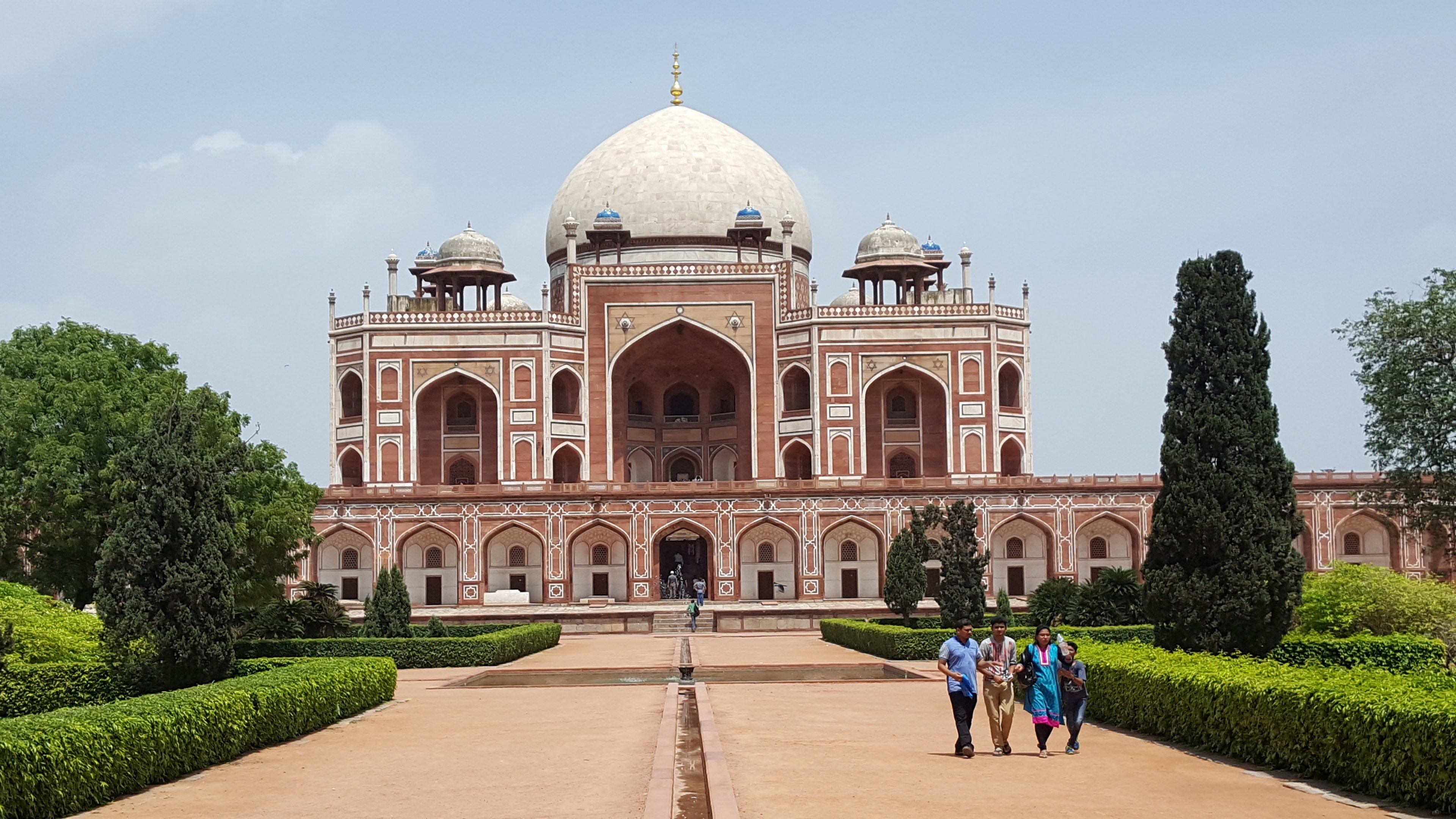 humayuns tomb new delhi 4k wallpapers and backgrounds