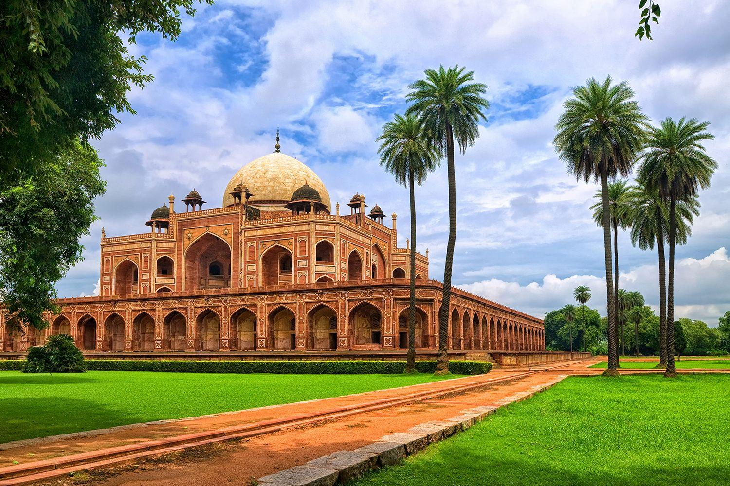 Buy Humayun's Tomb New Delhi Wallpapers Online in India at Best Price