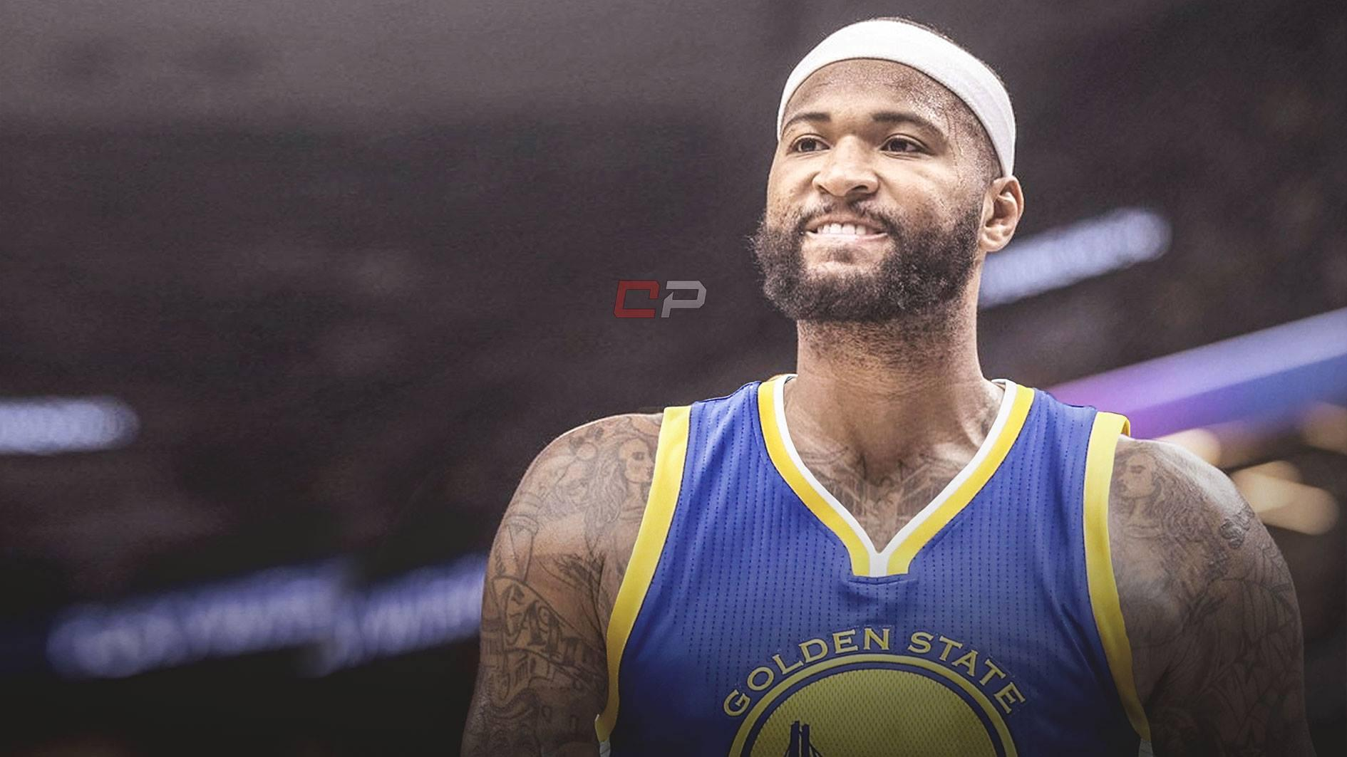 competitive price 7f04f 353f2 DeMarcus Cousins Golden State Warriors Wallpapers ...