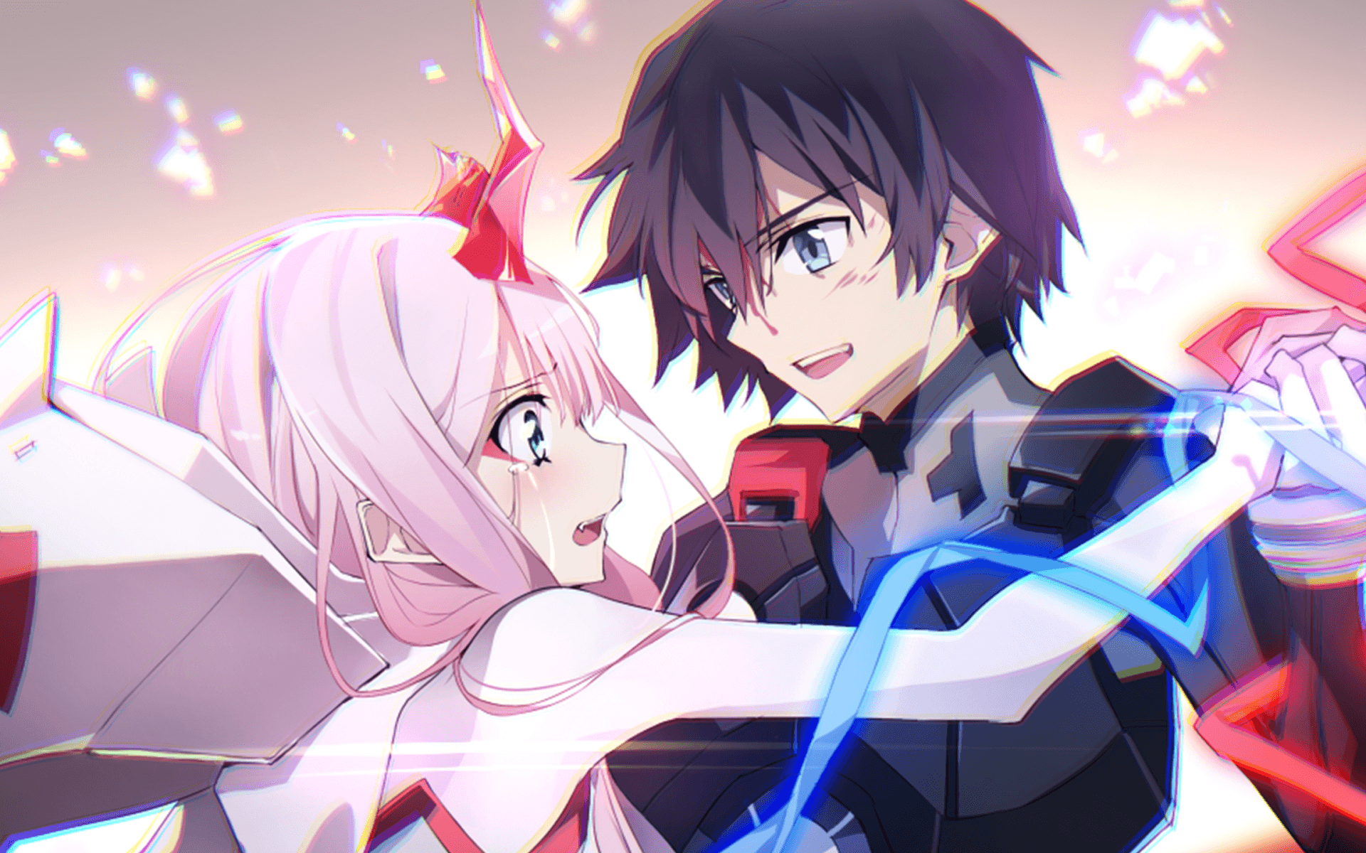 Hiro And Zero Two Wallpapers Wallpaper Cave