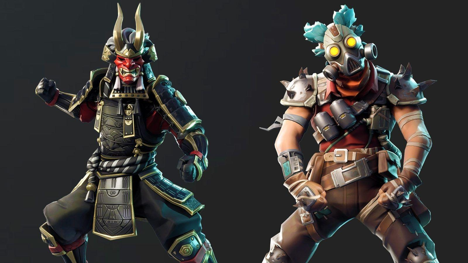 Leaked Fortnite cosmetics from update V6.21