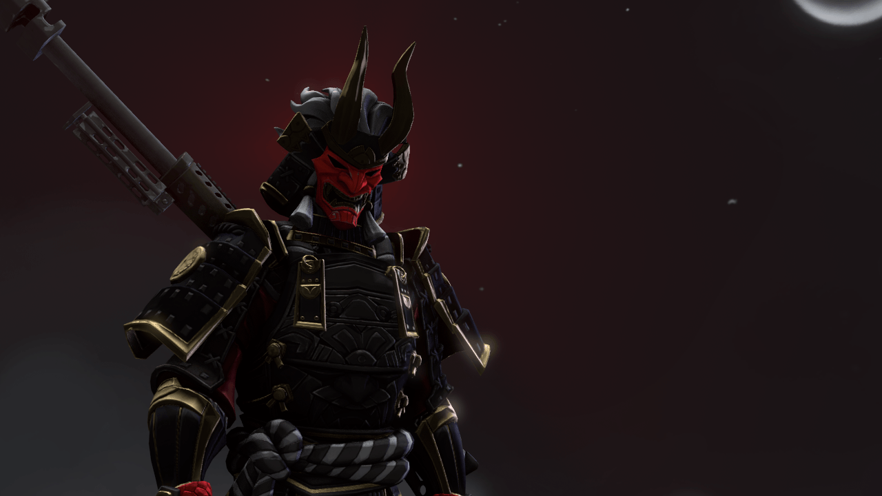 Quick SFM art of the unreleased Shogun Skin! [Ik it isnt perfect but