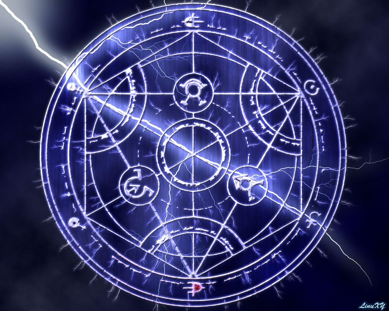 Transmutation Circle Wallpapers Wallpaper Cave