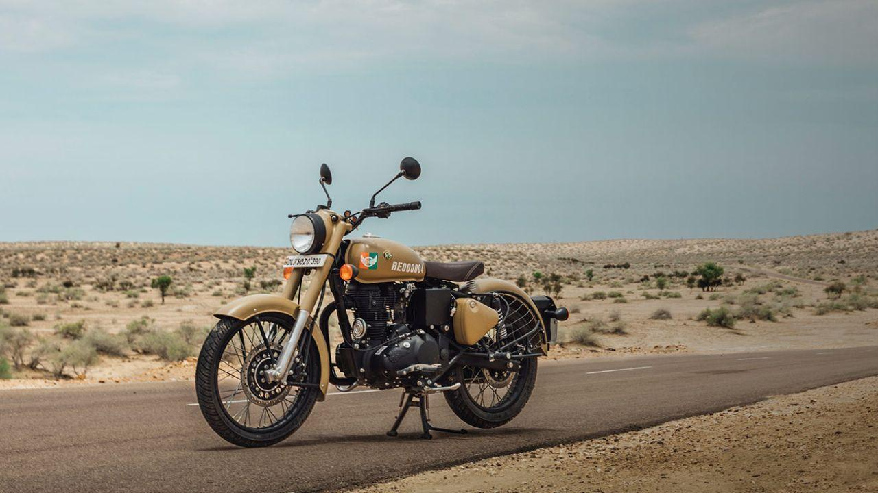 Royal Enfield Classic 350 Signals Wallpapers