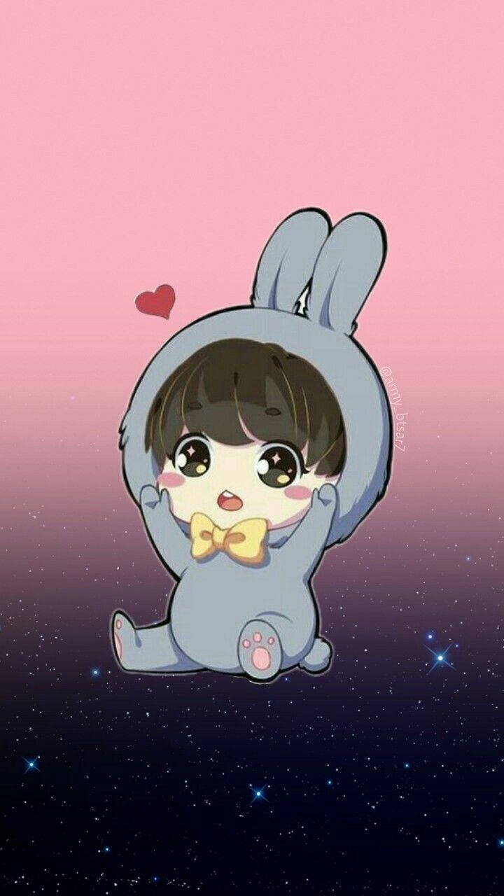 Wallpapers de Jungkook chibi