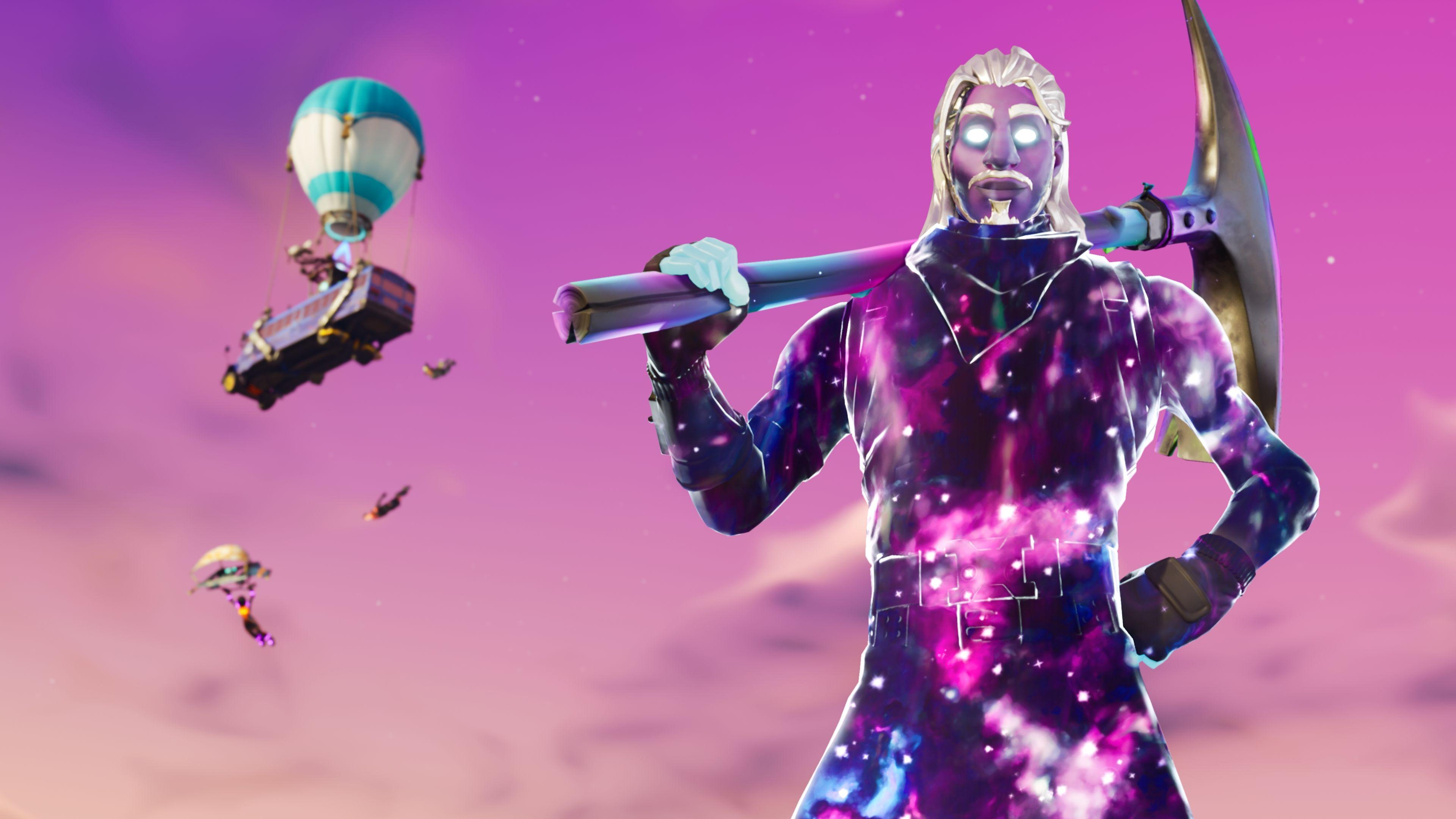 Galaxy Man Fortnite Season 6 4K Wallpapers