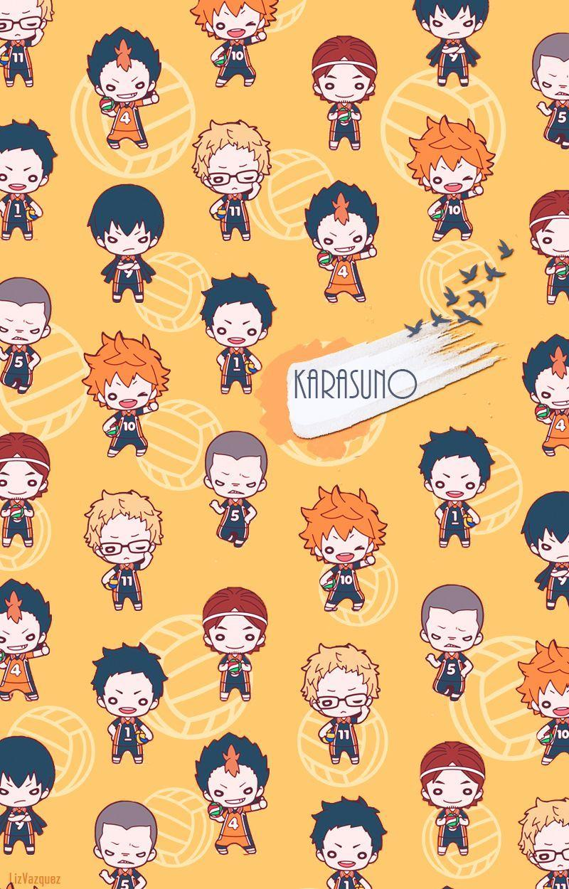 karasuno wallpapers by Liz Vazquez