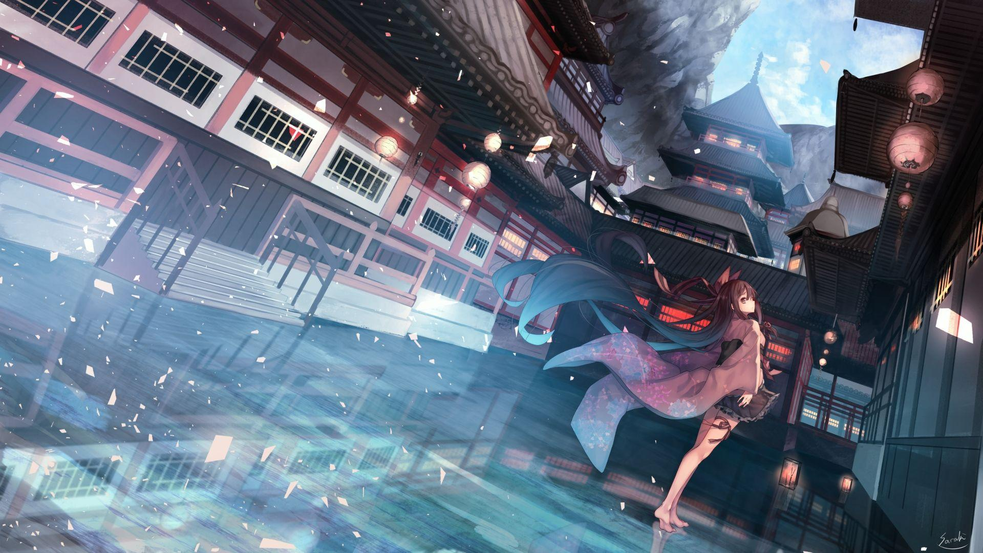 Japanese Animes Wallpapers Wallpaper Cave