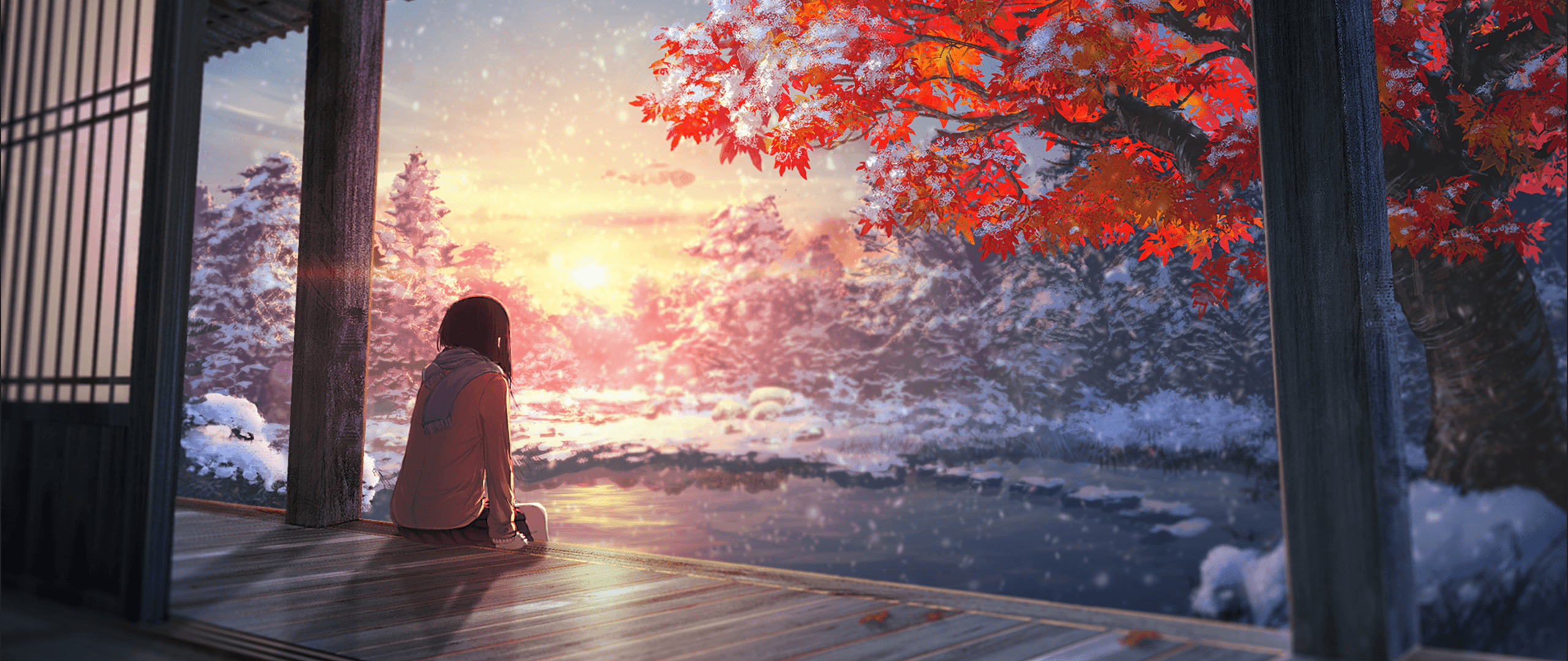 2560x1080 Anime Aesthetic Wallpapers Wallpaper Cave
