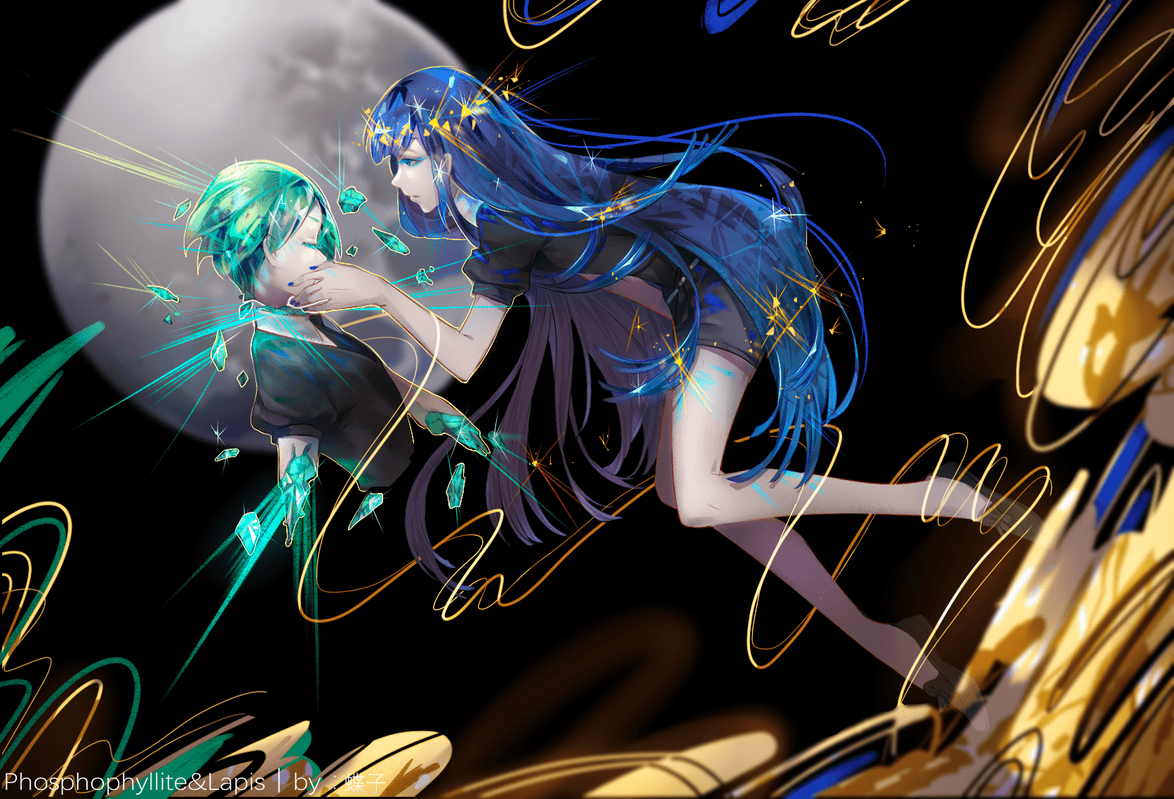 Houseki No Kuni Wallpapers Wallpaper Cave