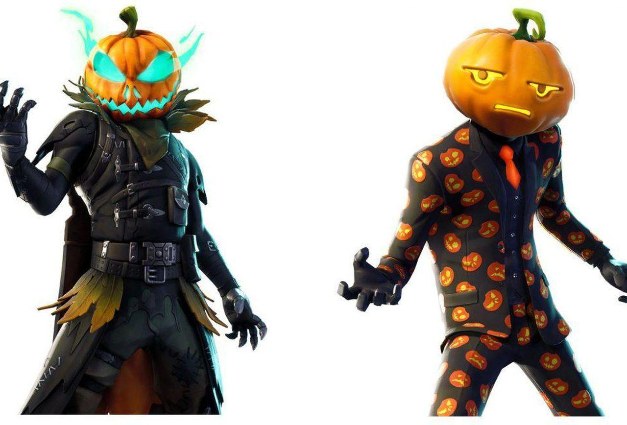 There Are Some Amazing Leaked Halloween Skins In Fortnite's v6.02 Patch
