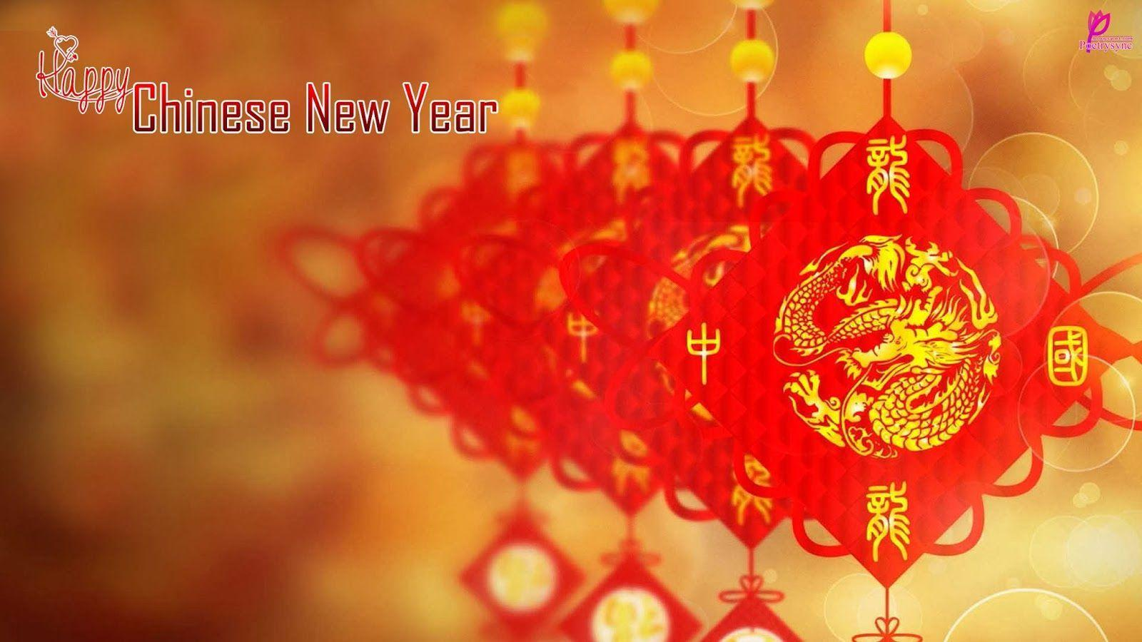 2014 Chinese New Year Wishes and Greetings Card Picture Happy