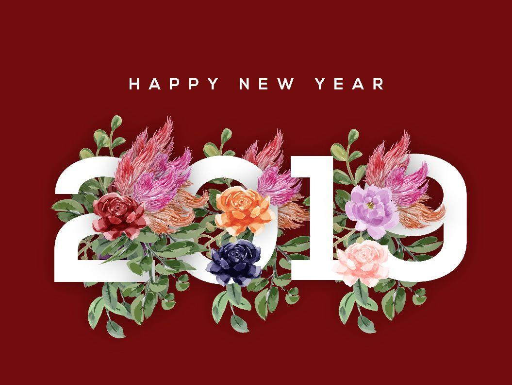 Happy New Year 2019 Image HD Wallpapers Wishes quotes pictures
