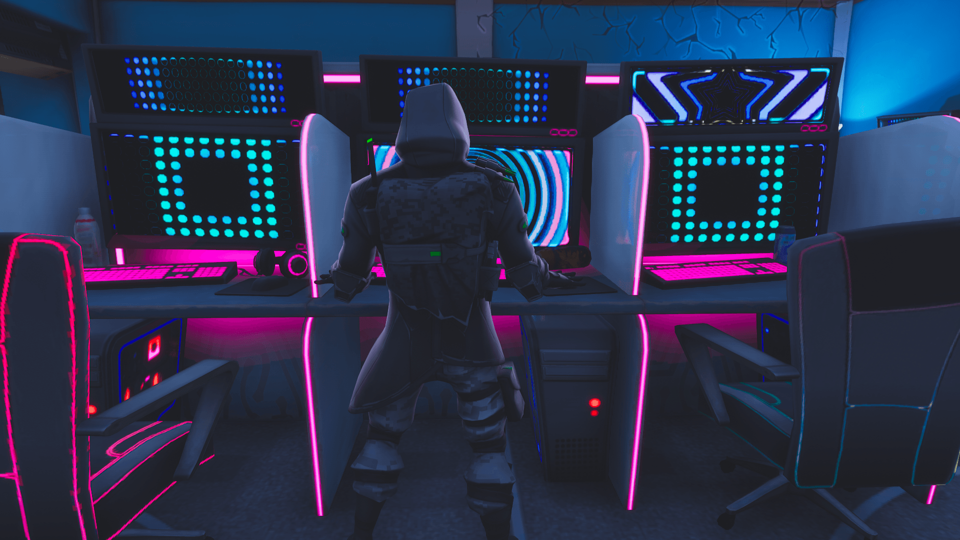 4k Resolution Neon Wallpaper Hd Cool Neon Fortnite Wallpaper