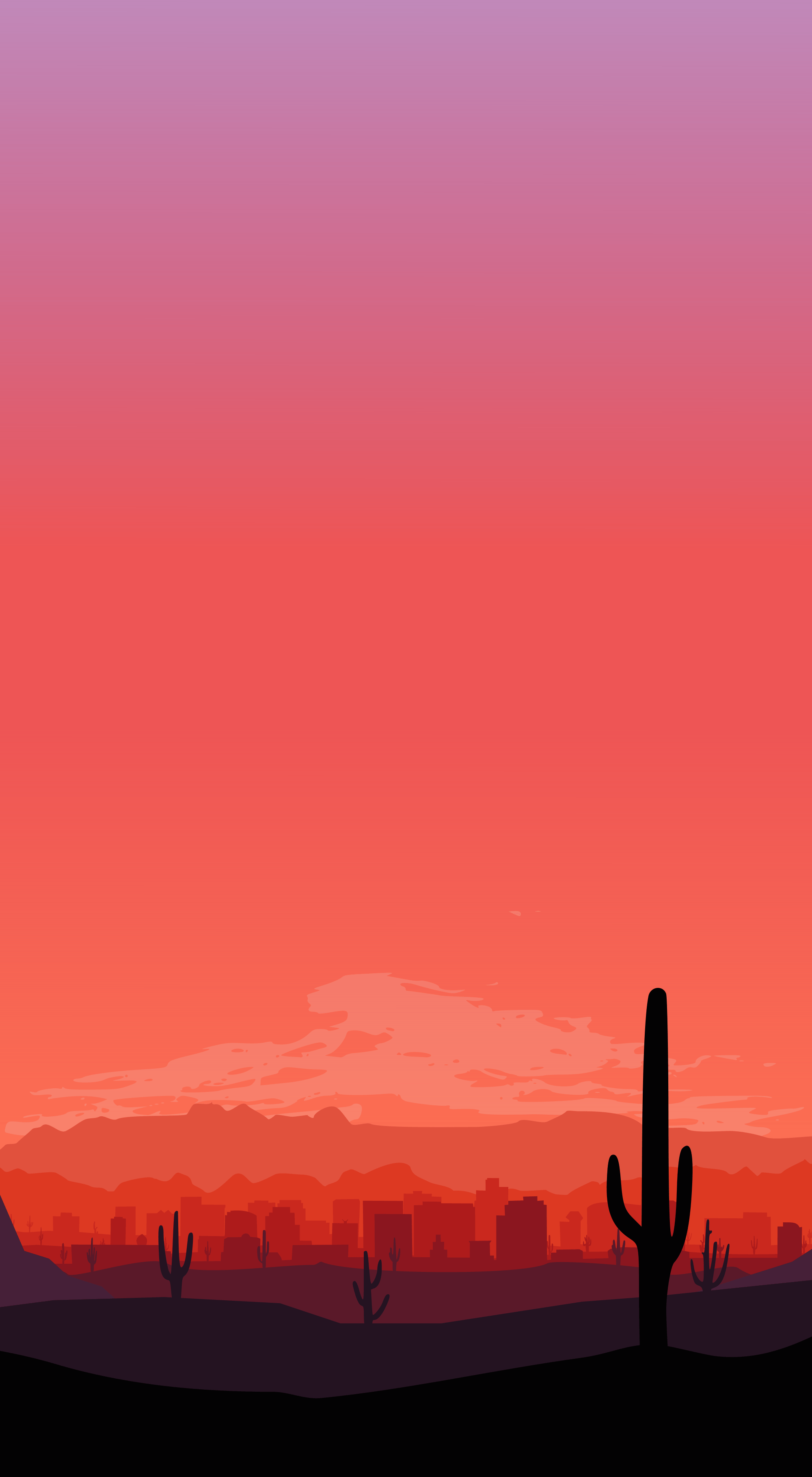 I created an iPhone wallpaper for your city : phoenix
