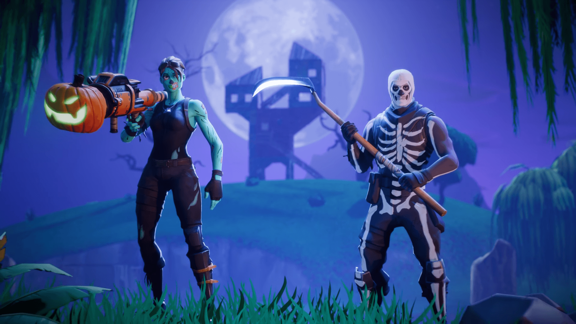 Zombie Fortnite Wallpapers Wallpaper Cave