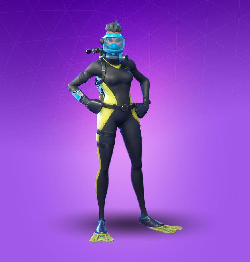 Reef Ranger Skin - Fortnite Cosmetic - Pro Game Guides