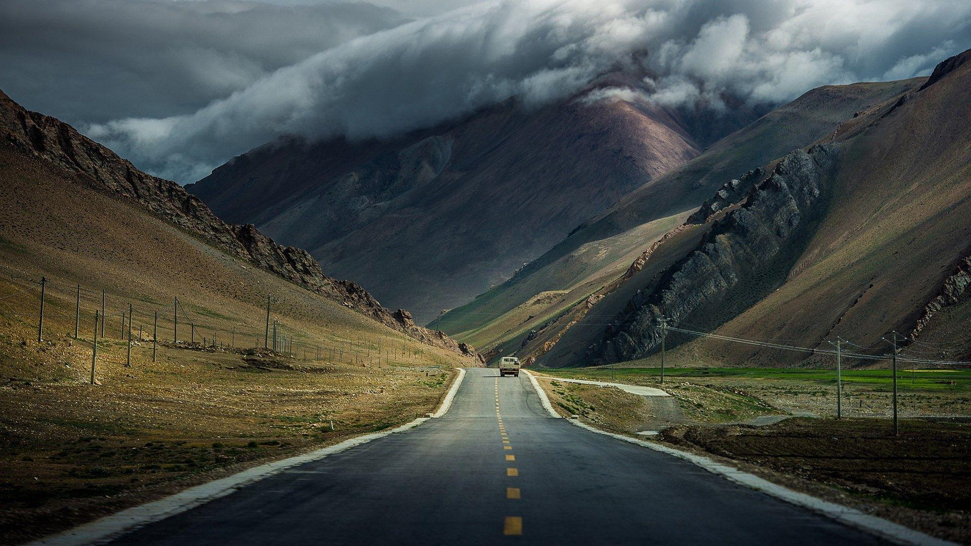 Mountain Road Wallpapers Wallpaper Cave
