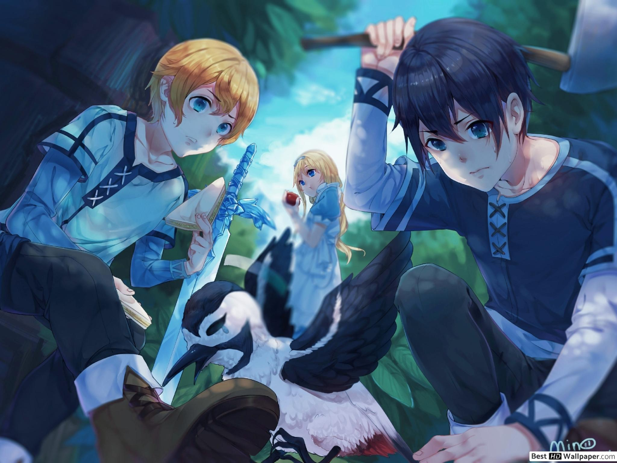 Sword Art Online Alicization Wallpapers Wallpaper Cave