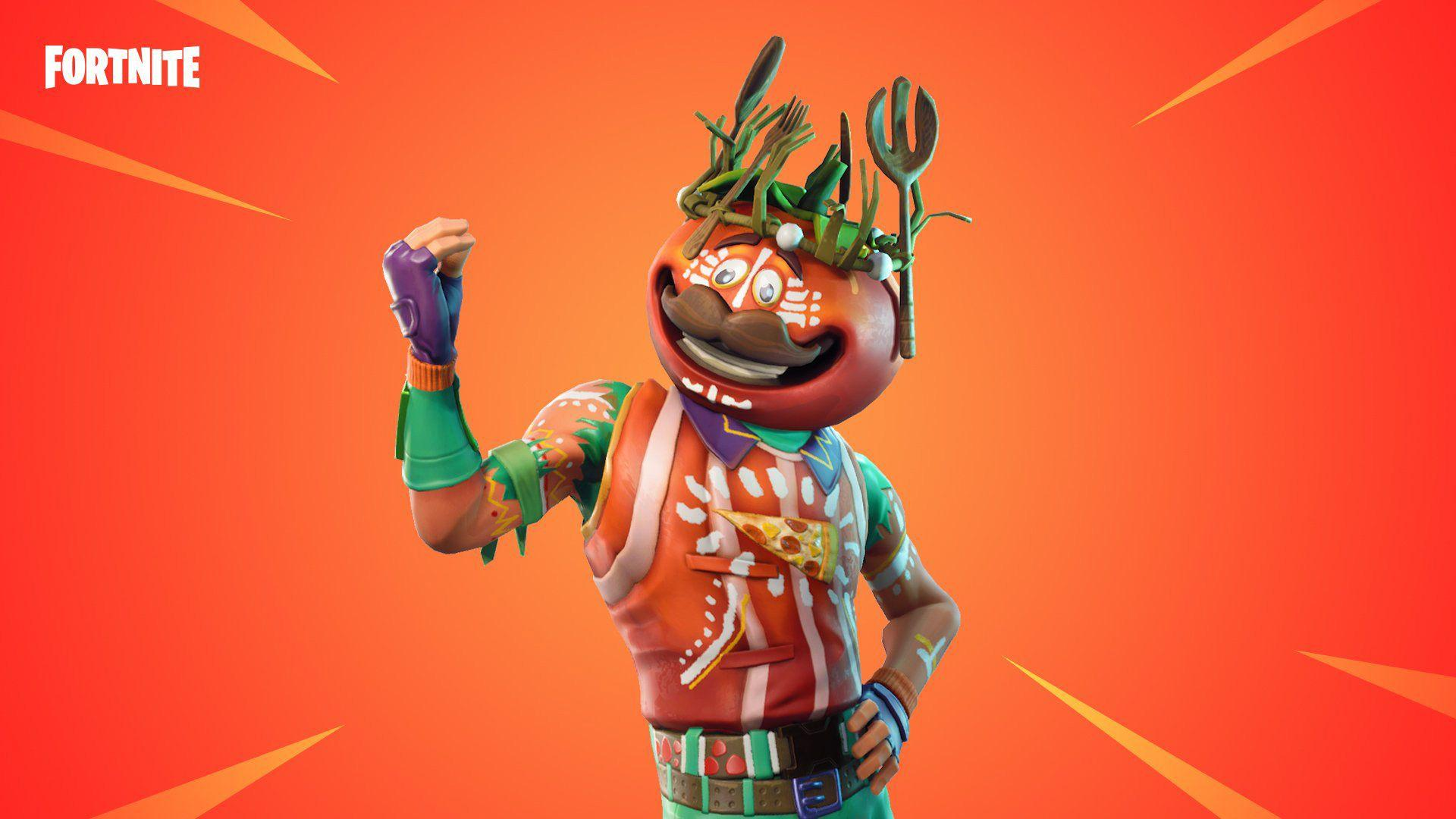 Tomatohead Skin - Fortnite Cosmetic - Pro Game Guides