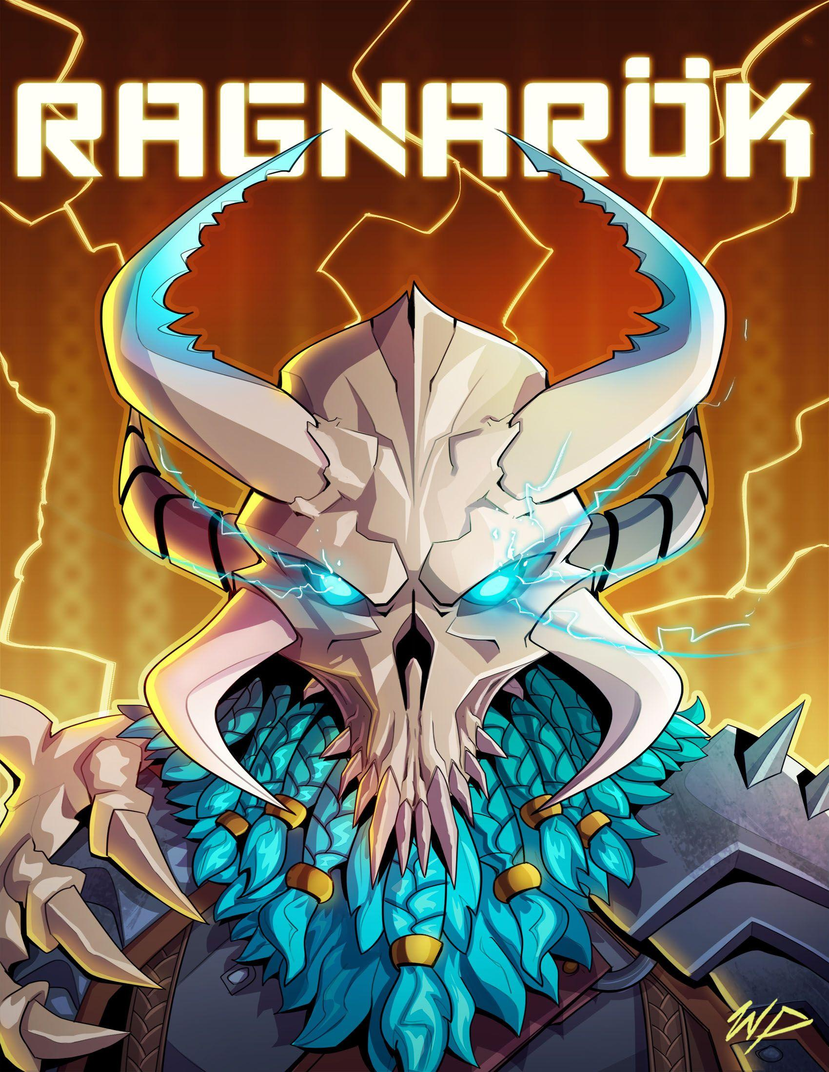Ragnarok Cool Fortnite Wallpaper - Game Art by Puekkers #4416 ...