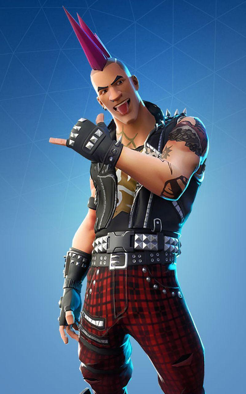 Fortnite Battle Royale wallpapers Skin : Riot