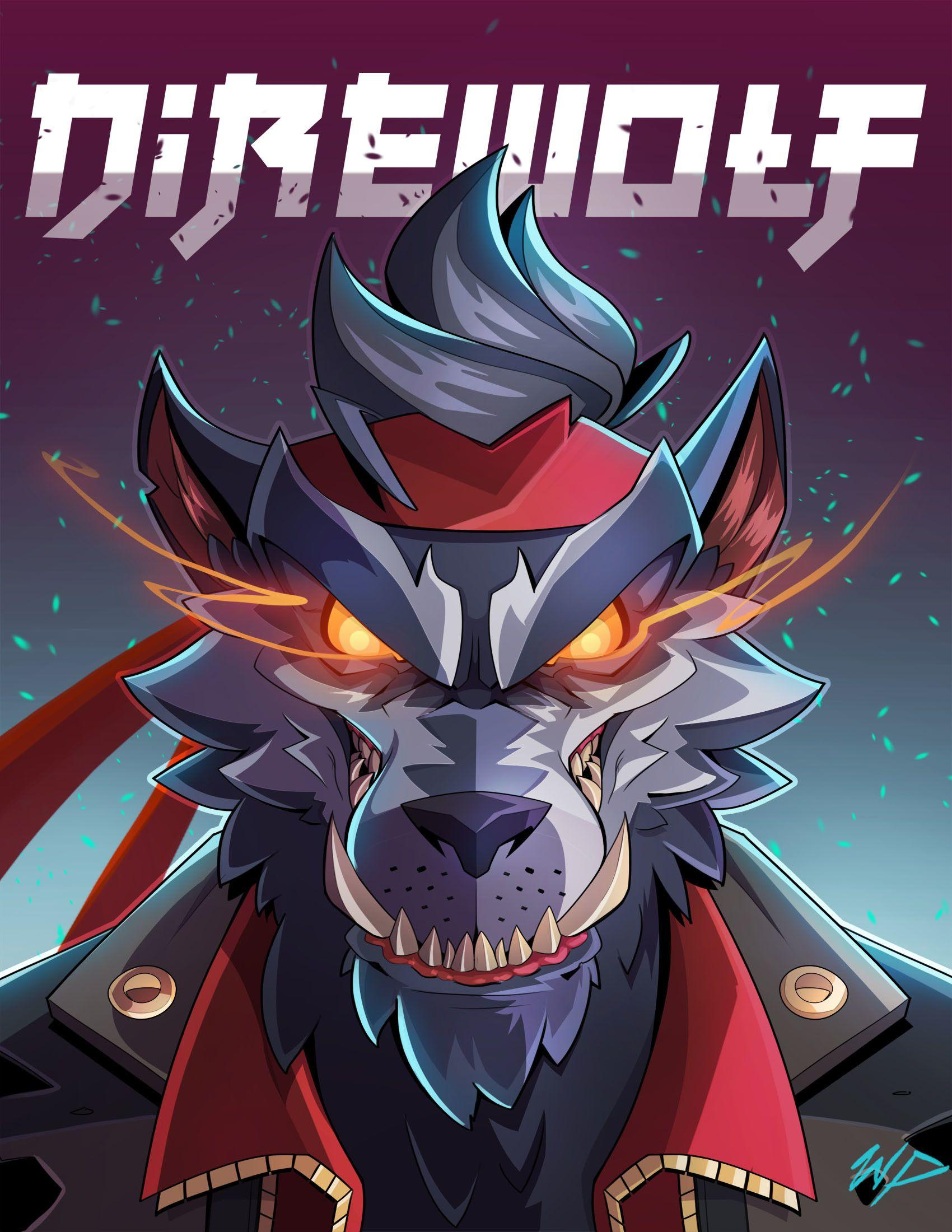 Fortnite Dire Werewolf Amazing Backgrounds by William Puekker