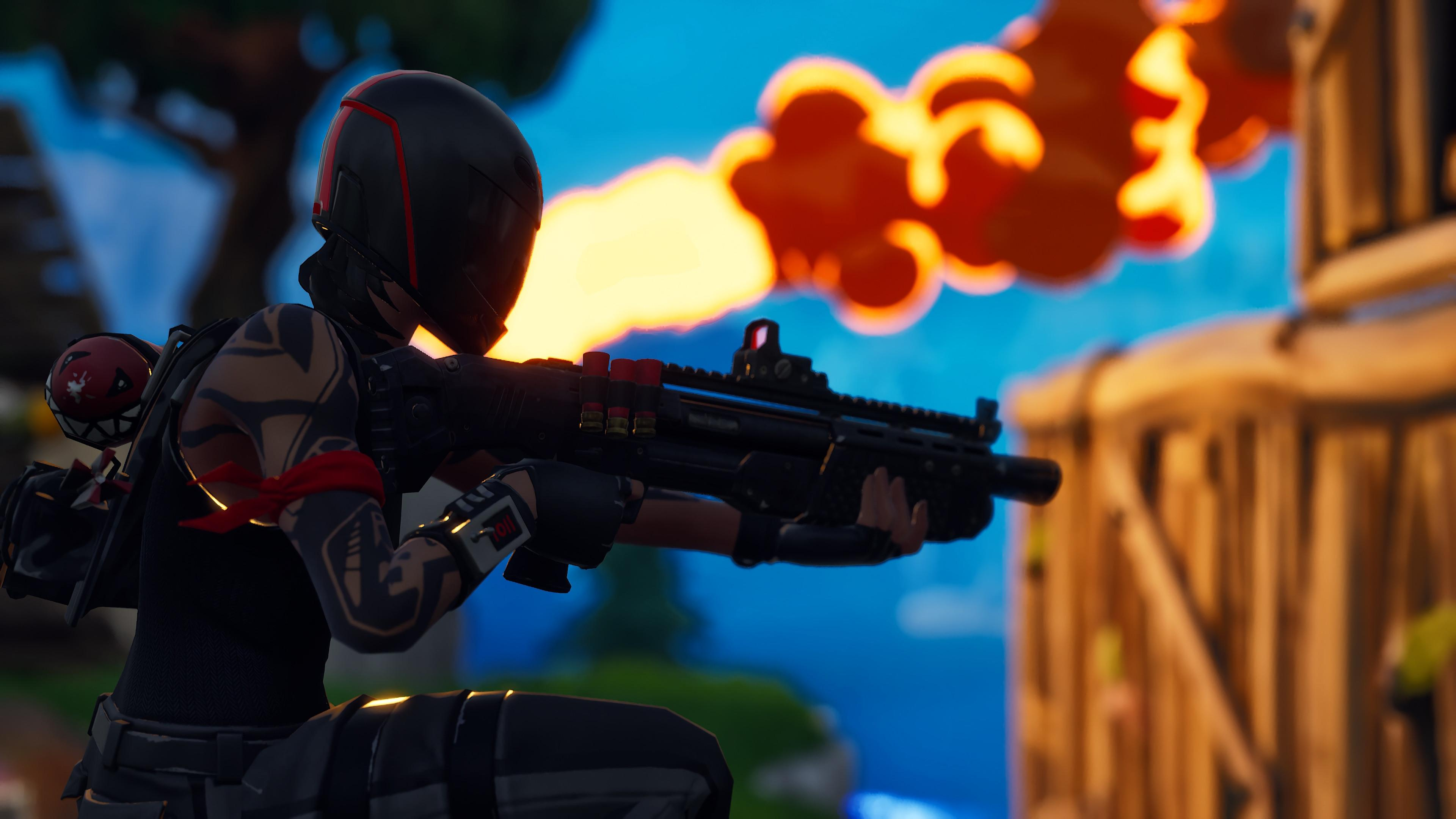 Redline 4K 8K HD Fortnite Battle Royale Wallpaper