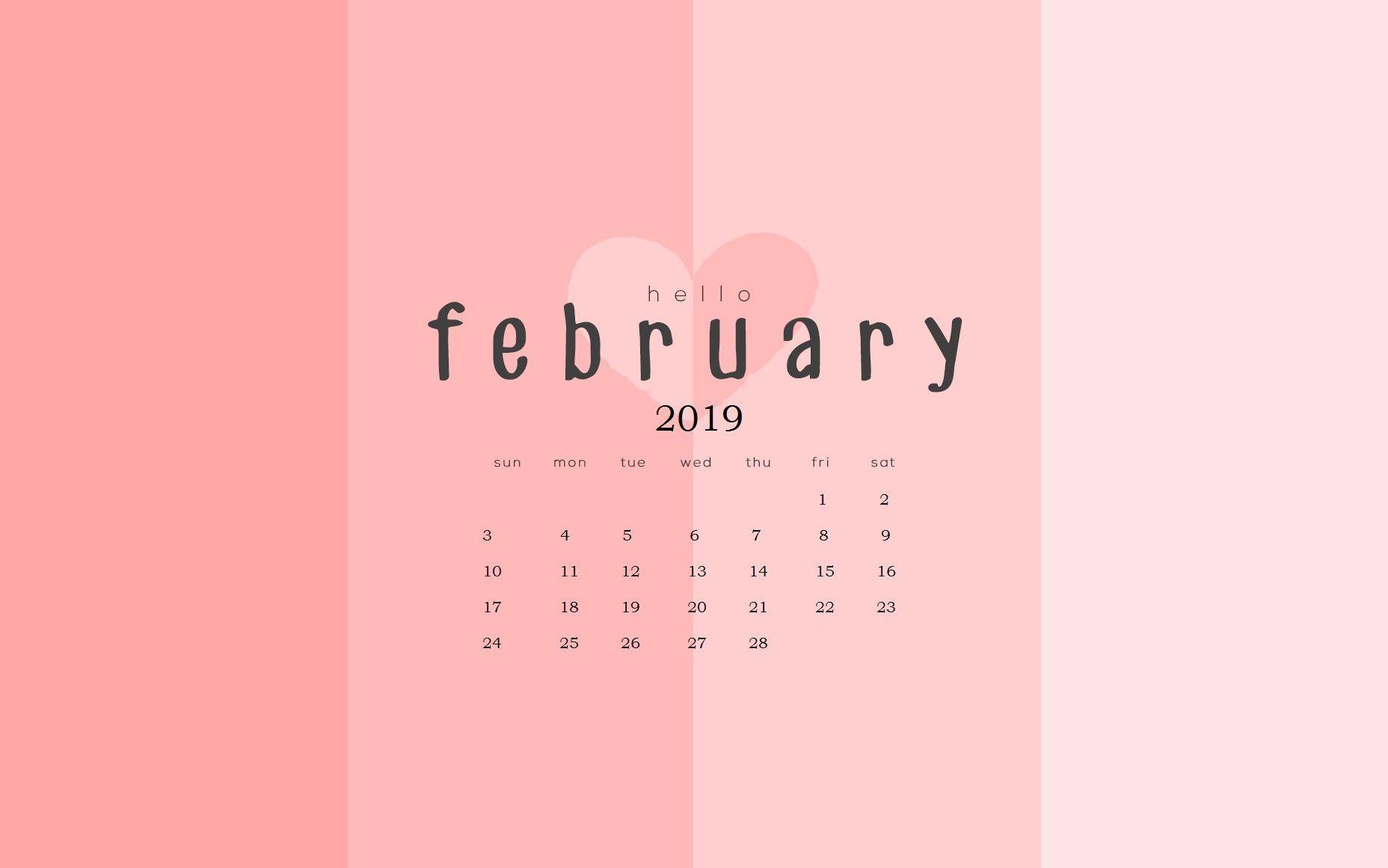 2019 February Calendar Buzz Wallpaper Calendars February 2019 Calendar Wallpapers   Wallpaper Cave
