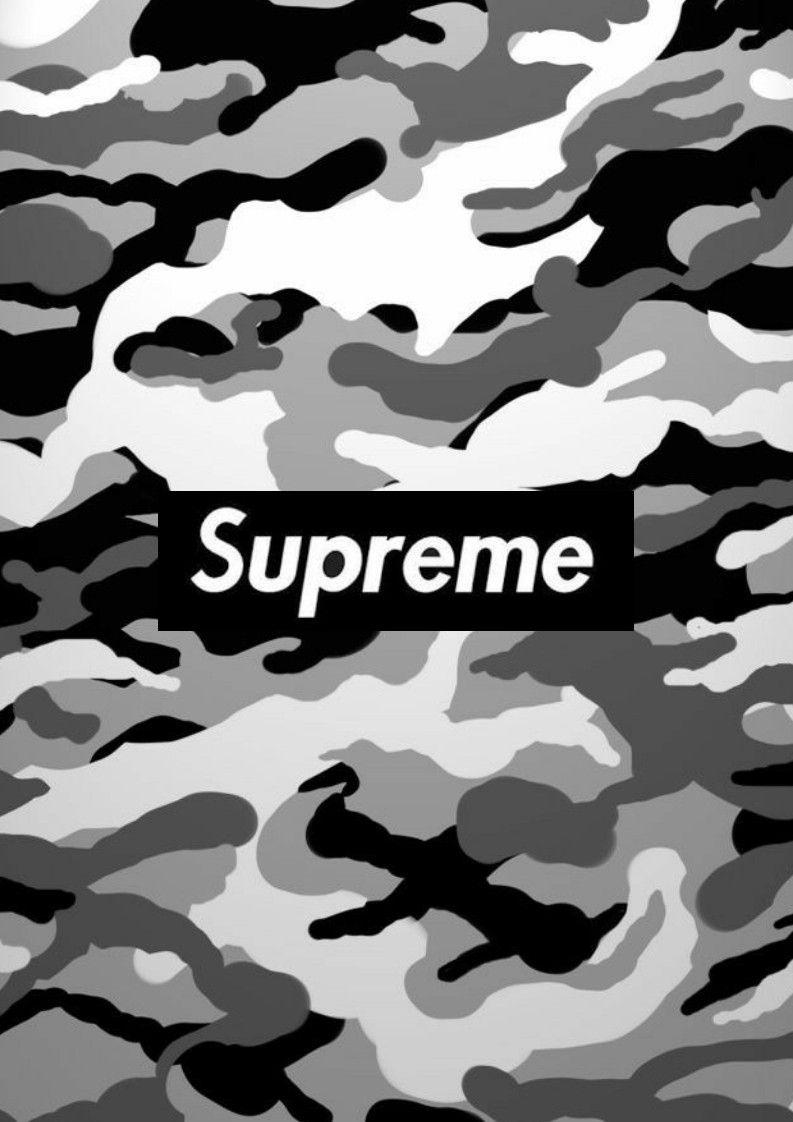 Supreme Camo Wallpapers Wallpaper Cave