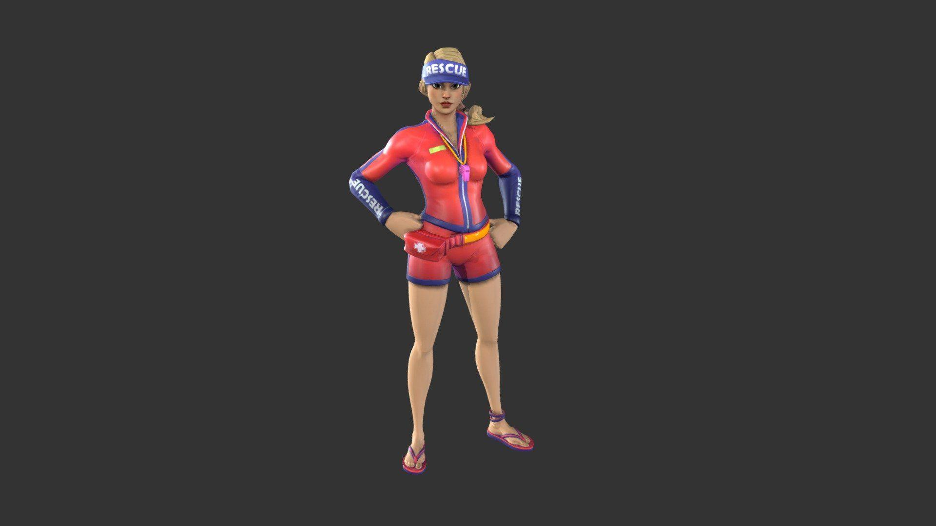 Fortnite sun strider costume