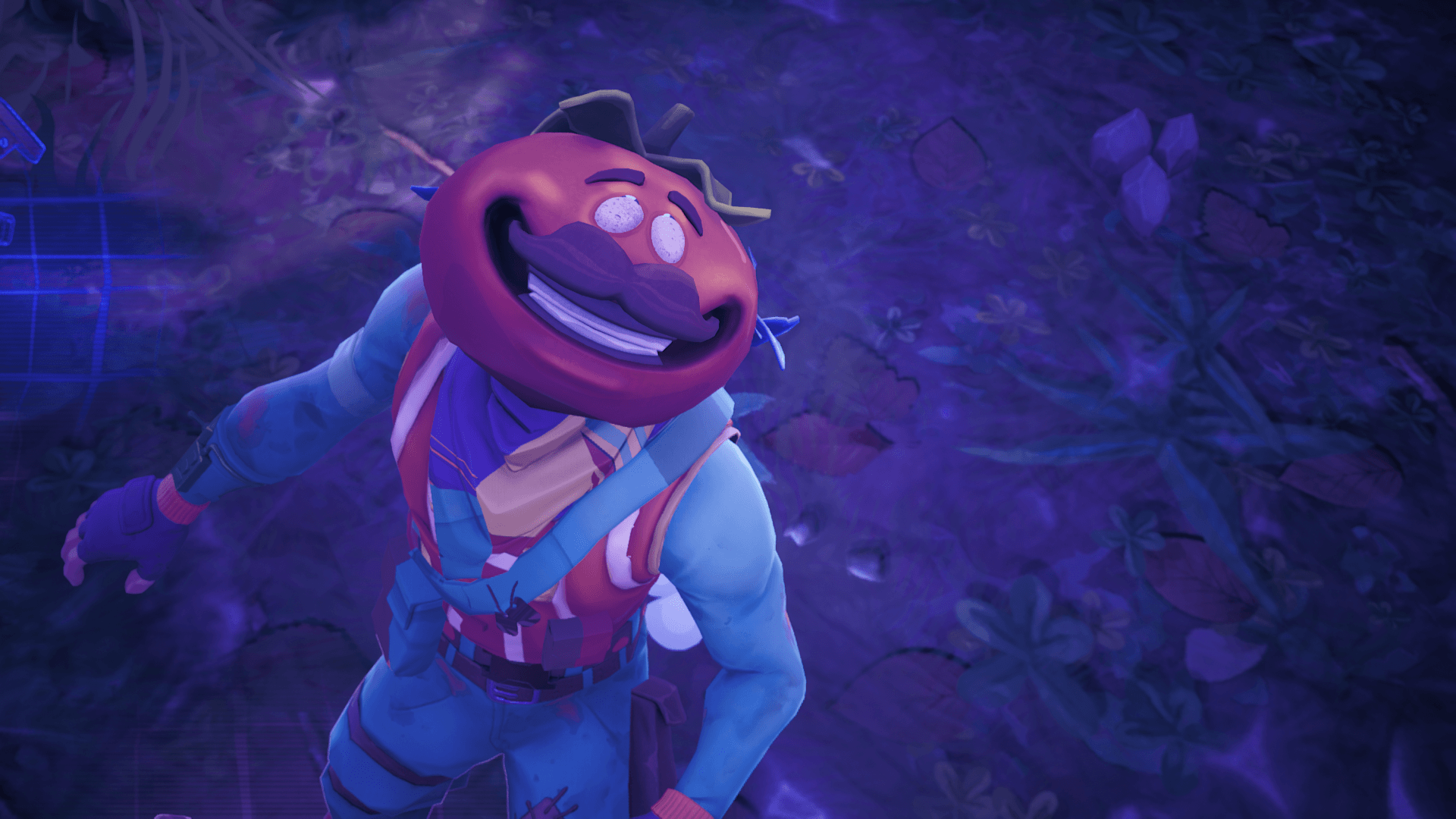 CREEPY] If you go into the replay mode the time tomato head dies his ...