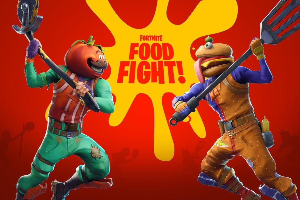 Fortnite introduces new Food Fight mode for a limited time - The Verge