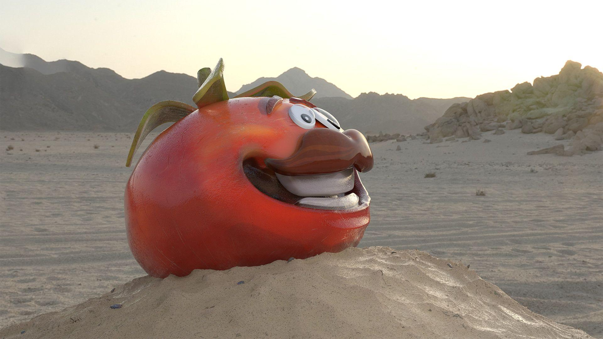 ArtStation - Tomato Head Found In the Desert - Fortnite, Roee ...
