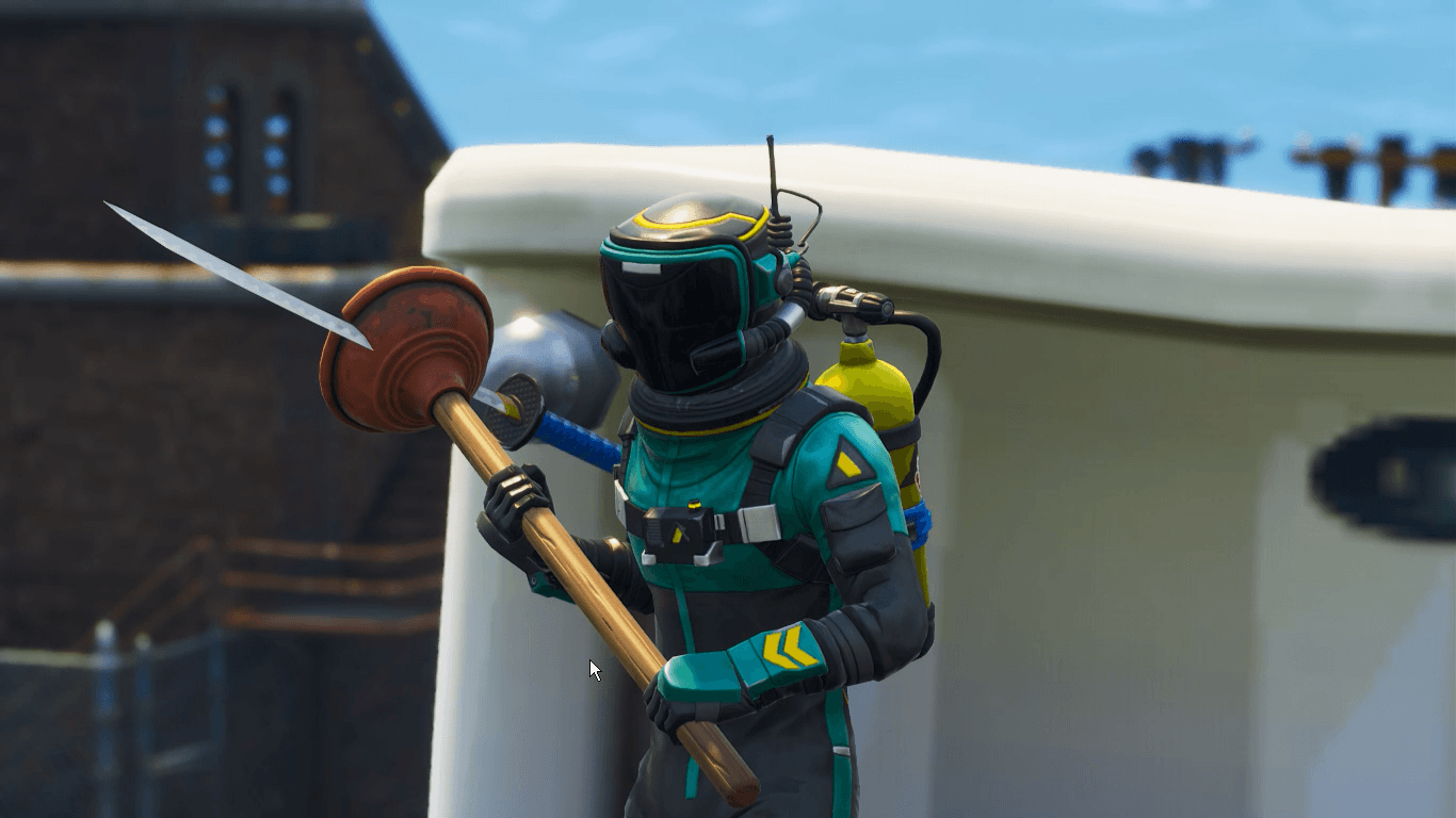When its your turn to clean the toilet // Toxic Trooper, air tank